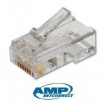 AMP Cat 6 RJ45 Cable Connector